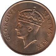 1 shilling - George VI – avers