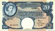 20 Shillings – avers