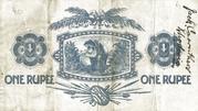 1 Rupee – revers