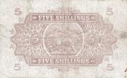 5 Shillings – revers