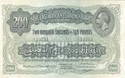 200 Shillings -  avers