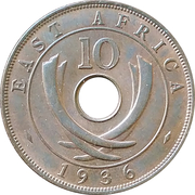 10 cents - Edward VIII – revers