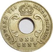 1 cent - Edward VII -  avers