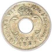 1 cent - Edward VII – avers