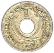 1 cent - Edward VII -  revers