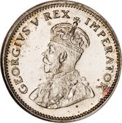 6 pence - George V (SOUTH AFRICA - ZUID AFRIKA) – avers