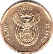 50 cents (en Tsonga - AFRIKA DZONGA) -  avers