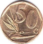 50 cents (en Tsonga - AFRIKA DZONGA) -  revers