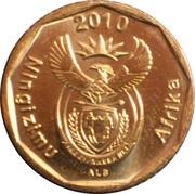 20 Cents (Légende en Swazi - Ningizimu Afrika) -  avers