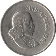 10 cents - Van Riebeeck  (en afrikaans - SUID AFRIKA) -  avers