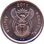 5 cents (en Tshivenda - TSHIPEMBE AFURIKA) -  avers