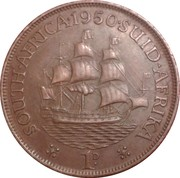 1 penny - George VI (SOUTH AFRICA - SUID AFRIKA) – revers