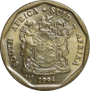 20 cents (SOUTH AFRICA - SUID-AFRIKA) -  avers