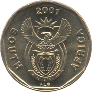 10 cents (en anglais - SOUTH AFRICA) -  avers