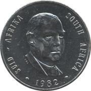 1 rand - Balthazar J. Vorster -  avers
