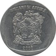 2 rand (en Xhosa - UMZANTSI AFRIKA) -  avers