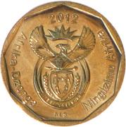 50 cents (en Tsonga et Swazi - Afrika Dzonga - Ningizimu Afrika) -  avers
