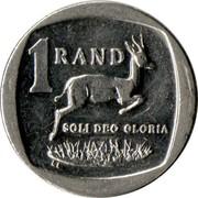 1 Rand (Afrika Borwa - Aforika Borwa) -  revers