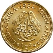 ½ cent - Van Riebeeck -  revers