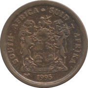 1 cent (SOUTH AFRICA - SUID-AFRIKA) -  avers