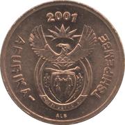 2 cents nouvelles armoiries (en Venda - AFURIKA-TSHIPEMBE) – avers
