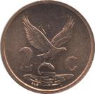 2 cents nouvelles armoiries (en Venda - AFURIKA-TSHIPEMBE) – revers
