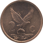 2 cents nouvelles armoiries (en Venda - AFURIKA-TSHIPEMBE) -  revers