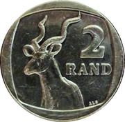 2 Rand (uMzantsi Afrika - Suid Afrika) -  revers