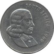 50 cents - Van Riebeeck (en anglais - SOUTH AFRICA) -  avers