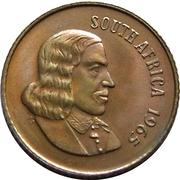 2 cents - Van Riebeeck (en anglais - SOUTH AFRICA) -  avers