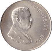 1 rand - Dr. Verwoerd (en Afrikaans - SUID AFRIKA) -  avers