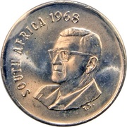 10 cents - Charles Swart (en anglais - SOUTH AFRICA) – avers