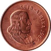 1 cent - Van Riebeeck (en afrikaans - SUID-AFRIKA) -  avers
