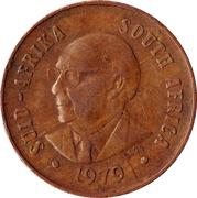 1 cent (Nicolaas J. Diederichs) -  avers