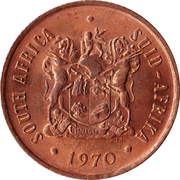 2 cents (SOUTH AFRICA - SUID AFRIKA) -  avers