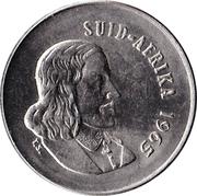 5 cents - Van Riebeeck (en afrikaans - SUID AFRIKA) -  avers