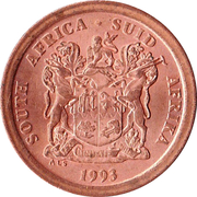 5 cents (SOUTH AFRICA - SUID-AFRIKA) -  avers