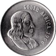 20 cents - Van Riebeeck (en anglais - SOUTH AFRICA) -  avers