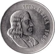 20 cents - Van Riebeeck (en afrikaans - SUID AFRIKA) -  avers