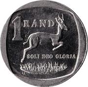 1 rand (en Afrikaans - SUID AFRIKA) -  revers