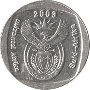 1 rand (en Xhosa et Afrikaans - SUID AFRIKA) -  avers
