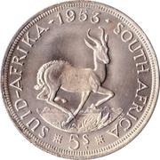 5 shillings - Elizabeth II (1ere effigie) -  revers