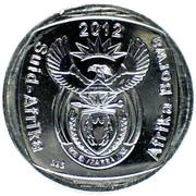 2 rand (en Afrikaans et Sepedi/Sesotho - AFRIKA BORWA) -  avers