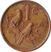 1 cent (Jacobus Johannes Fouché) -  revers