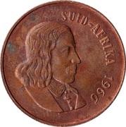 2 cents - Van Riebeeck  (en afrikaans - SUID AFRIKA) -  avers