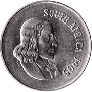 10 cents - Van Riebeeck (en anglais - SOUTH AFRICA) -  avers