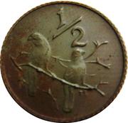 ½ cent (Balthazar J. Vorster) – revers