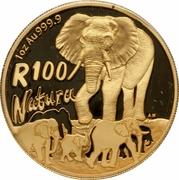100 Rand (Éléphant) – revers