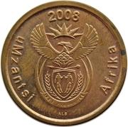 5 cents (en xhosa - UMZANTSI AFRIKA) -  avers