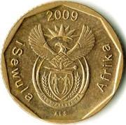 10 cents (en Ndebele - ISEWULA AFRIKA) -  avers